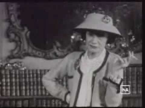 CHANEL: Coco Chanel parle de l'élégance