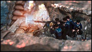German Naval Invasion of Crimea - Brutal Amphibious Beach Assault