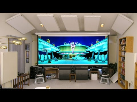 Living Room Home Theater Tour - YouTube