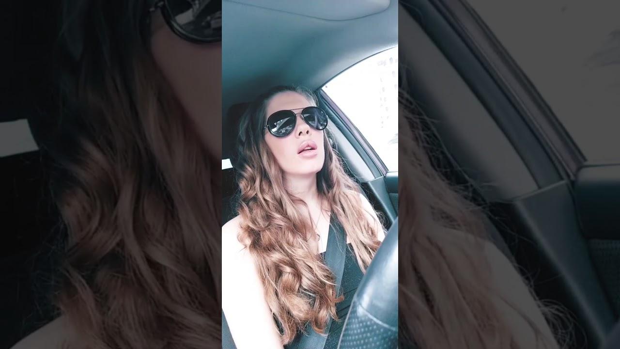 Девушка за рулем - YouTube