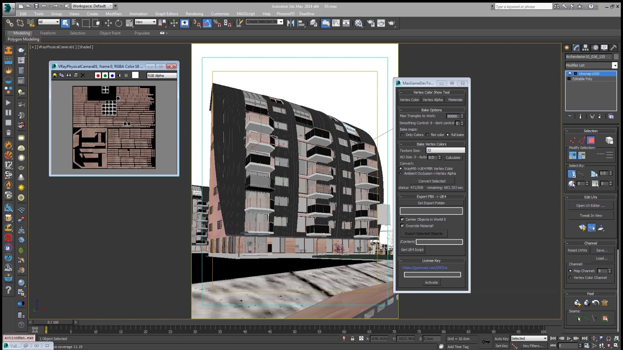 3ds Max Vray Scene Converter to UE4 - Unreal Engine Forums