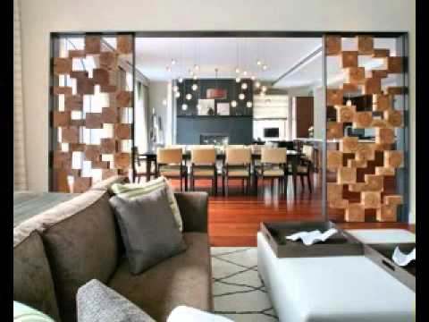 Best living room partition decorations ideas youtube for Living dining room separation ideas