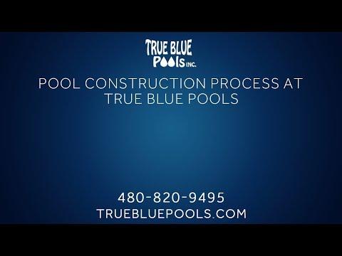 Pool Construction Process   True Blue Pools