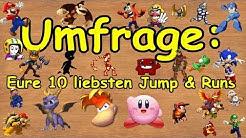 Top 10: Eure besten Jump & Run Spiele