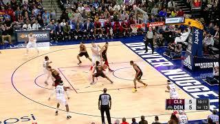 1st Quarter, One Box Video: Denver Nuggets vs. Cleveland Cavaliers