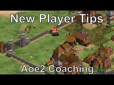 Aoe2: Coaching - New Player Tips #2 3v3 Team Game