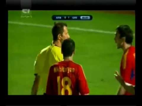 Греция-Армения 1-0 все голы и голевые моменты