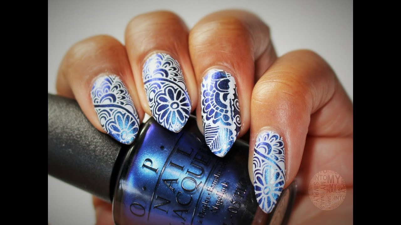 Stamping With Miss Piggys Big Number & Dashica Infinity 42 - YouTube