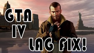 GTA IV Low End PC or Laptop! Lag FIX!! 100% sure this works!!