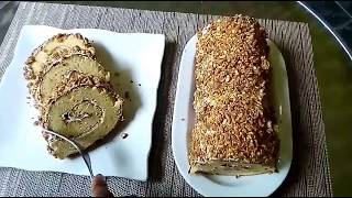 Cara Praktis Membuat Roll Cake Nougat yang Lembut