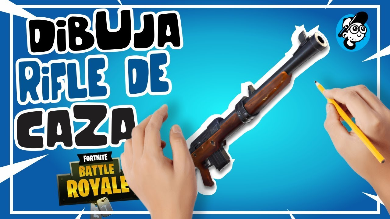 Como Dibujar Rifle De Caza Fortnite Dibujo De Armas Fortnite Dibujos De Fortnite Paso A Paso