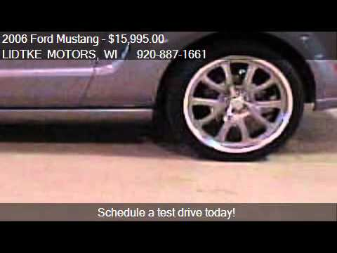2006 Ford Mustang Gt For Sale In Beaver Dam Wi 53916