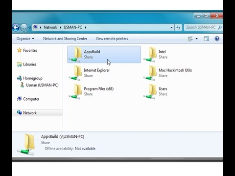 how to share folder in windows 7 on network  No password protection