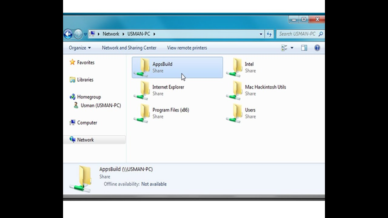 share files without homegroup windows 7