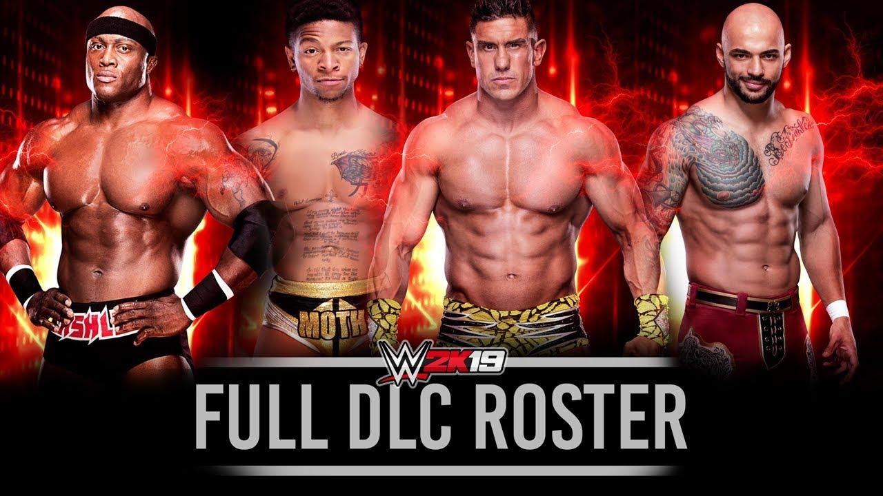 WWE 2K19 FULL DLC ROSTER - EC3, Bobby Lashley, Ricochet & MORE!!