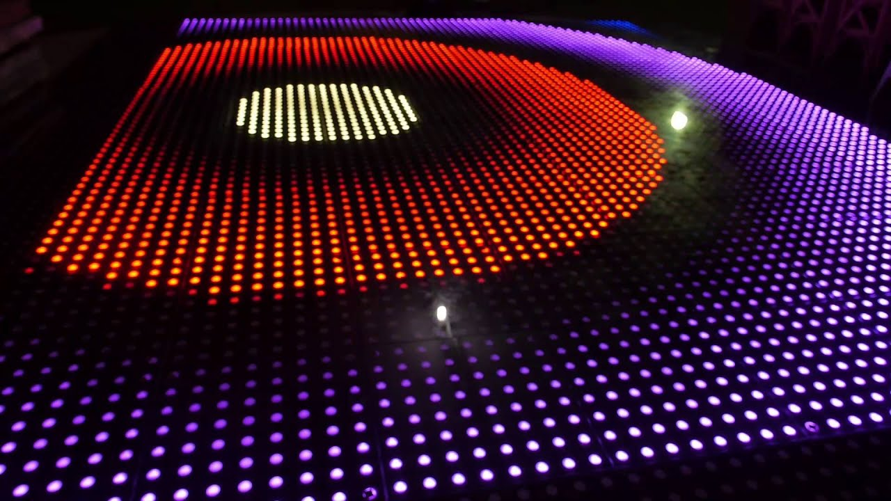 Renta Pista De Baile Led Lluminated Led Pixel Rgb Dance
