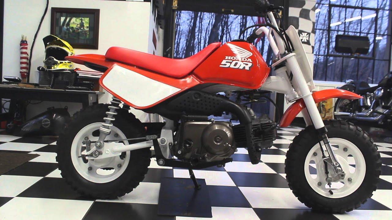 1989 Honda Z50R - YouTube