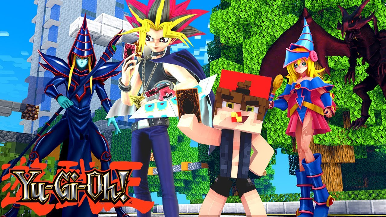 Minecraft - Who's Your Family? O FILHO YUGI ! YU-GI-OH!