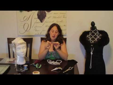 Custom 1920's Style Headpiece | Jewelry Making Hacks