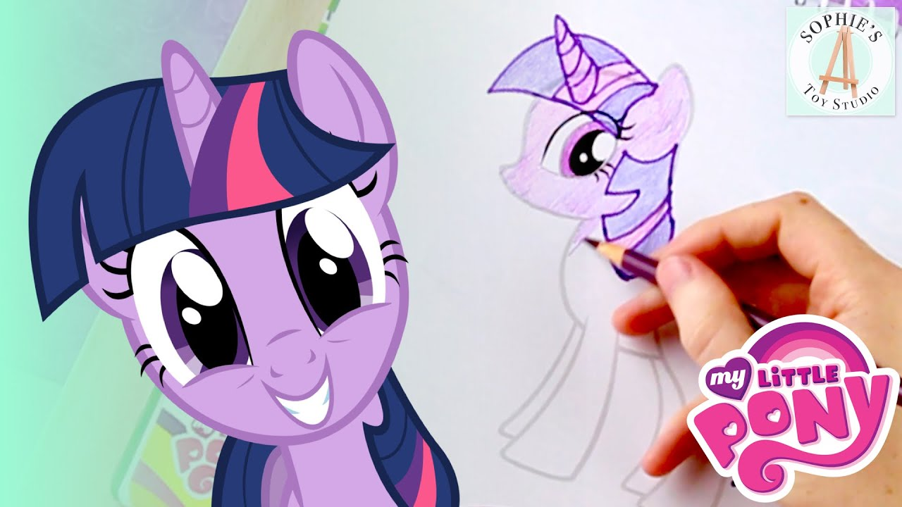 Coloring Twilight Sparkle My Little Pony Sketch