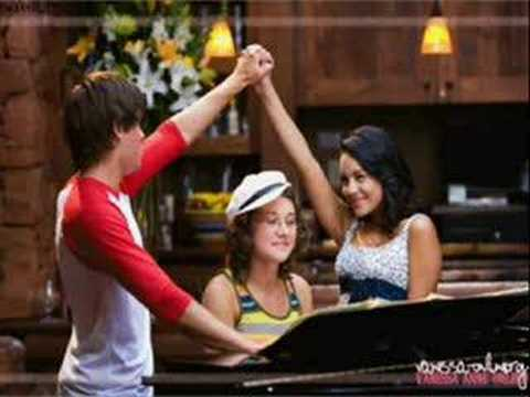 Work this out - high school musical 2 FULL + lyrics (pics)