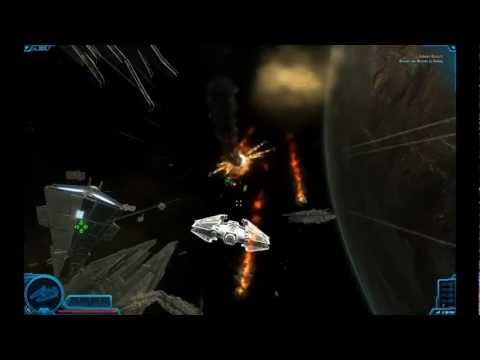 Star Wars The Old Republic Space Combat Sith Ship Beta