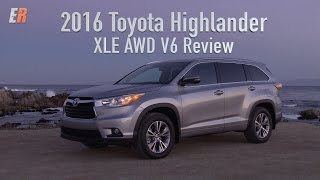 2016 Toyota Highlander XLE AWD V6 Review - How does this compare with my own Highlander Hybrid?