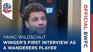 YANIC WILDSCHUT   Winger's first interview as a Wanderers player