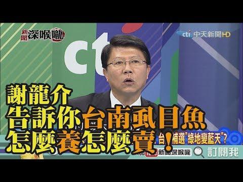 《新聞深喉嚨》精彩片段 謝龍介告訴你台南虱目魚怎麼養怎麼賣!