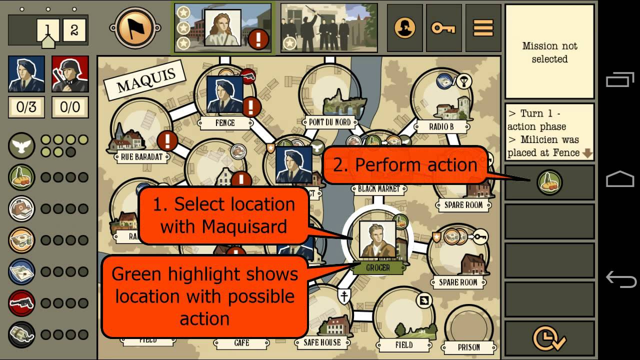 Maquis Board Game Quick Start Tutorial Youtube