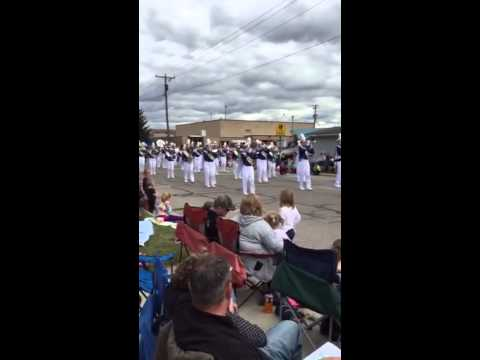 Miller City High School Marching Band at Kalida