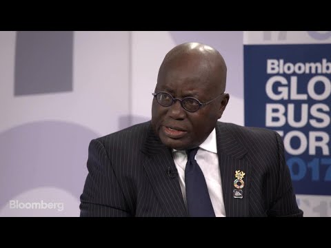 Ghana's Akufo-Addo On Economy, Cocoa, Trade, Oil