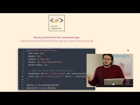 Glen Maddern - Styling React Apps with Styled Components