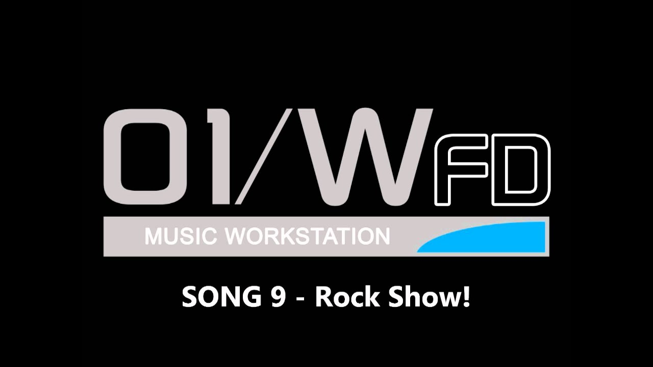 KORG 01/W - Demo Song 9 - Rock Show!