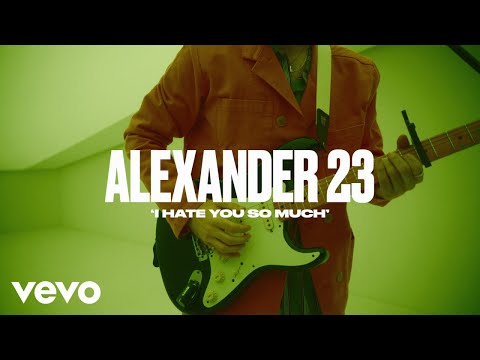 Alexander 23 - I Hate You So Much (Live) | Vevo DSCVR