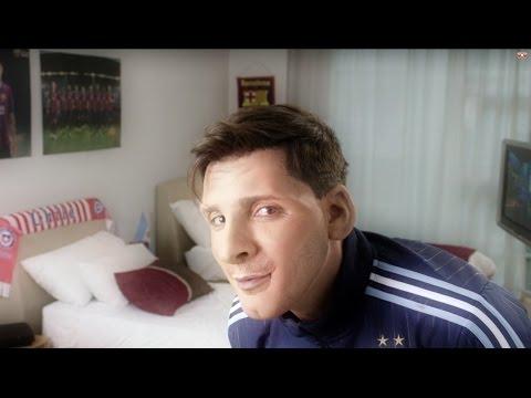 Messi por Bossi desde la concentración de la selección en Chile