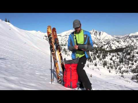 Backcountry skiing tip - How to organize the gear in your pack