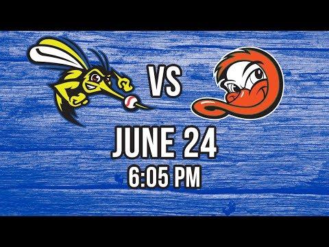 6/24/17-Sugar Land Skeeters vs. Long Island Ducks