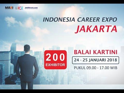 Indonesia Career Expo Jakarta 24 - 25 Januari 2018