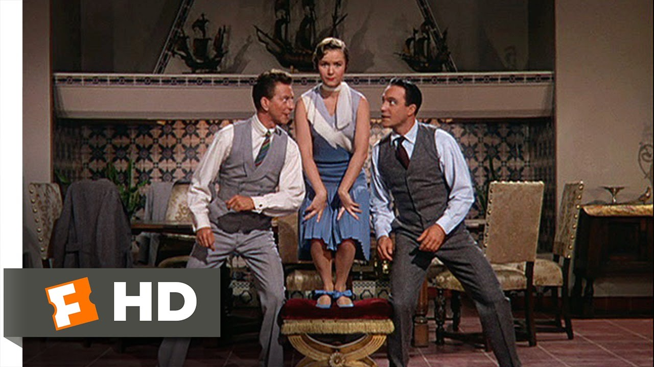 Singin In The Rain 58 Movie Clip Good Morning 1952 Hd Youtube