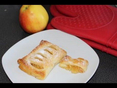 Яблочные слоенки
