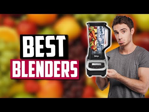 Best Blenders in 2020 [Top 5 Picks For Smoothies, Protein Shakes & Juices]