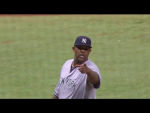 C C Sabathia hits two batters intentionally, gets ejected and loses out on 500K Bonus