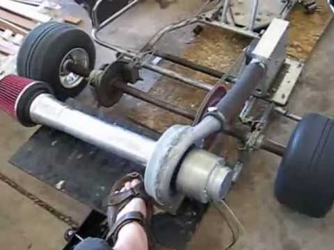 THE KENDALL MOTOR - Compressed Air Turbine Powered Go Kart 4