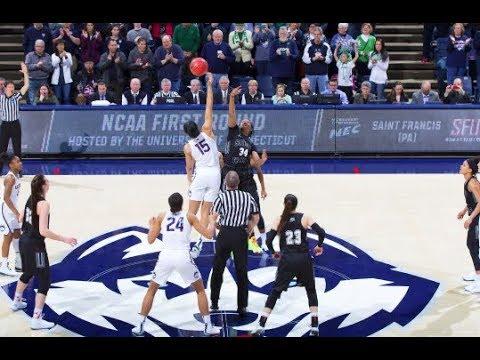 UConn Women's Basketball Highlights v. St. Francis 03/17/2018 (NCAA Tournament First Round)