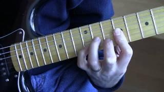 Part 5:  Pride (U2 Guitar Tutorial) - Chords & Left Hand Technique for Verse / Chorus