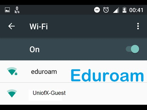 Eduroam WiFi: What it is and why you should use it.