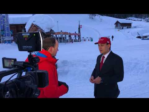 """America First"" at Davos World Economic Forum on Good Morning Britain"