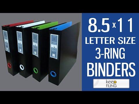 Letter Size Binder | Keepfiling