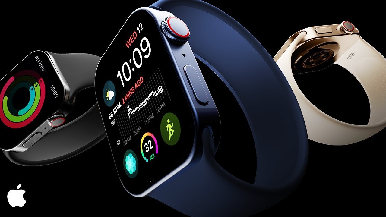 Video koncept Apple Watch Series 7 bude uveden na trh v roce 2021   ITIGIC